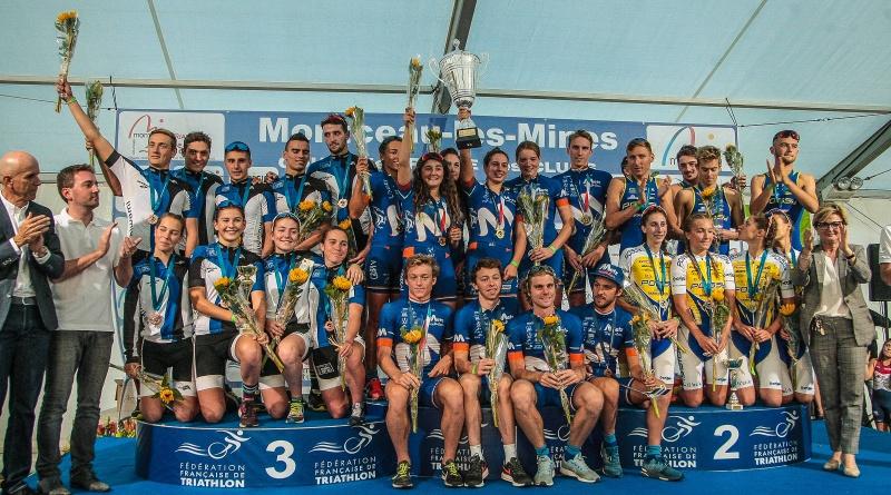 Coupe de France des Clubs – Le doublé pour Metz Triathlon