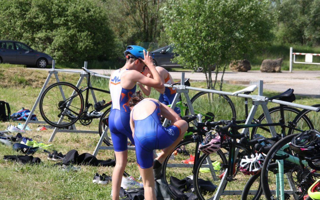 Triathlon Champey sur Moselle Mai 2021