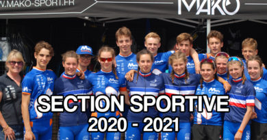 Section sportive 2020 – 2021