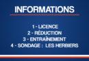 INFORMATIONS – Septembre 2020